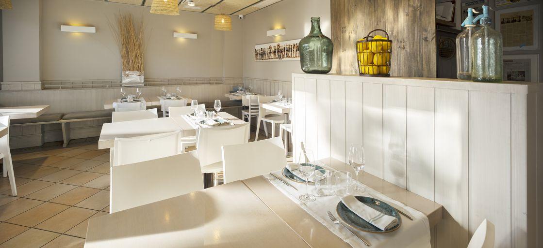 l'interior del restaurant